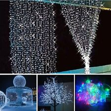 10M 100 LED String Fairy Light Lamp Outdoor Christmas Party Tree Decoration