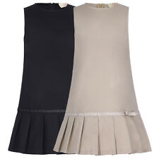 Hot Sleeveless Kids Baby Girl Children Skirt Mini Summer Dress Pleated Fit 6-12Y