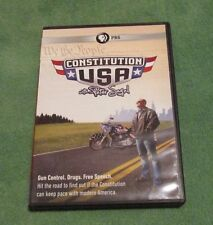 CONSTITUTION USA WITH PETER SAGAL 2 DVDs PBS