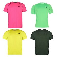 Under Armour Mens Gents Tech T-Shirt Sports Training Crew Neck Short Sleeve Top