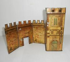 1927 Peek Freans castle biscuit tin  very rare vintage collectable