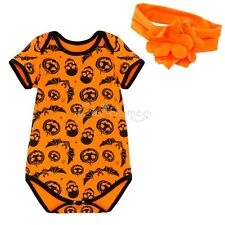 Halloween Baby Infant Boys Girls Party Romper Bodysuit Jumpsuit Outfit Costume