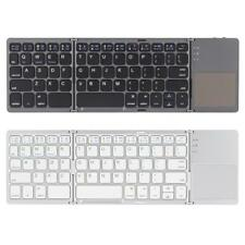 Kkmoon Portable Ultra Thin Foldable Bluetooth Wireless Keyboard Touchpad G3H0