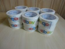 Lot of  Rolls eBay Branded BOPP Packaging Tape 75 yards per roll  NEW!