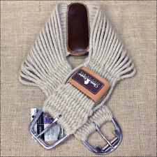 CLASSIC EQUINE WESTERN TACK MOHAIR ROPER HORSE CINCH GIRTH NATURAL