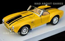 SHELBY COBRA 427 1:24 Scale Diecast Car Model Die Cast Cars Models Yellow