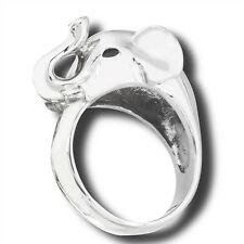 Cool Stainless Steel Bold ELEPHANT HEAD Fashion Ring Size 9-13