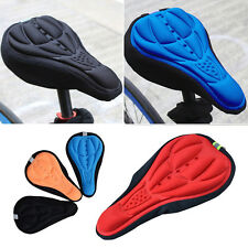 Cycling Bicycle Mountain Bike 3D Silicone Gel Pad Seat Saddle Cover Cushion EW