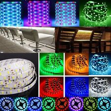 5M SMD 300/600led 5050 3528 3014 Strip LED Strip Light Tape For Xmas Garden Home