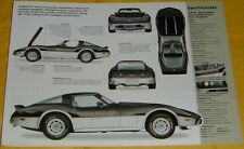 1978 Chevrolet Corvette Indy 500 Pace Car May 28,1978 350 ci info/Specs/photo