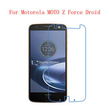 2x 4x Lot HD Clear Screen Protector Film Guard For Motorola Moto Z Force Droid