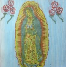Virgen de Guadalupe Mesh Woven Plastic Shopping bag Virgin Mary Made in Mexico