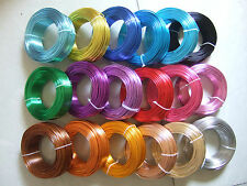 50 Meters/Roll 2mm Aluminium Carft Floristry Wire For Jewellery Making Findings