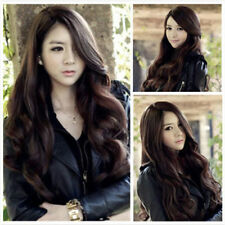 Hot Womens Lady Long Curly Wavy Hair Full Wigs Party Costume Wig Cosplay Wig