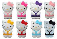 1 x Brand New 3D Cute Cartoon Hello Kitty Phone Case Cover Skin For iPhone 5 5s