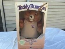 Original TEDDY RUXPIN Animated Talking Bear Toy w Tags Still Attached Works wBOX