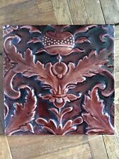 ORIGINAL ARTS & CRAFTS TILE BY CRAVEN DUNNILL & Co. FABULOUS DESIGN VGC