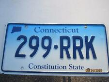 Conn. Ct. License Plate Lightly Used