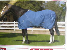 State Line Tack 100% Cotton Horse Stable Sheet New Pale Blue