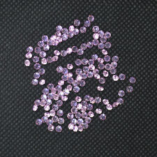 Wholesale Pink Round Cubic Zirconia Stone 2.5mm Loose 100-1000pcs A LOT