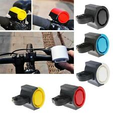Mini Electronic Bicycle Bike Alarm Electric Warning Bell Ring Loud Horn Cycling