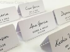 Personalized White/Cream/Kraft Vintage Lace Wedding Place Cards/Escort Cards