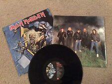 IRON MAIDEN - NO PRAYER FOR THE DYING LP - UK RELEASE LP