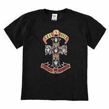 Official Childrens Guns and Roses T-Shirt Crew Neck Short Sleeve Top Clothing