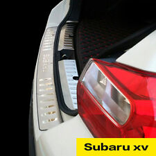 For:Subaru xv: Rear Bumper Cover Molding Moulding Protection 2012-2016