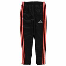 adidas Childrens Fleece Running Pants ClimaLite Boys Stretchy Sports Clothing