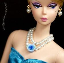 Fashion Barbie doll jewelry necklace earrings for Barbie doll 889A