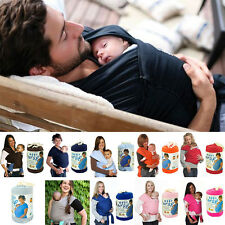 Baby Infant Toddler Cotton Sling Stretchy Wrap Carrier Soft Backpack Suspenders