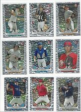 2014 BOWMAN DRAFT PICKS RC - SILVER ICE PARALLEL - WHO DO YOU NEED!!  DP103-132
