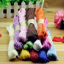 10m 2mm Divine Bakers Paper twine Wedding Party DIY  Ribbon Packing Rope EW
