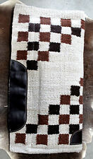 Wool Western Show Horse Trail SADDLE PAD Rodeo Blanket Tack  3805