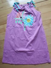 dress Hanna andersson 140 150 purple pillowcase floral blue new nwt jersey