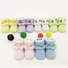 0-6M Baby Girls Boys Anti-slip Socks Infant Toddler Newborn Slipper Shoes Boots