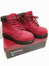 Ankle High Lace-Up Safety Boots SAFETY WORK LACE UP STEEL TOE CAP