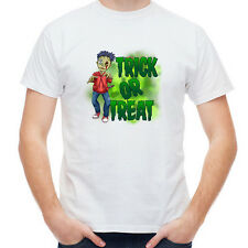 """Trick or Treat"" Cute Zombie Boy Spooky Scary Halloween Costume Party T-Shirt"