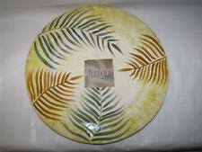 Havana Ceramic Palm Leaves Dinner Serving plate platter from Home Essentials New