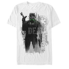 Star Wars Rogue One Death Trooper Modern Profile Mens Graphic T Shirt