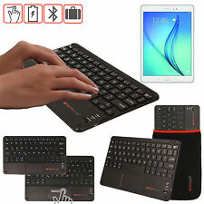 """Slim Wireless Bluetooth UK Keyboard with Touchpad for Samsung Galaxy Tab A 10.1"""""""