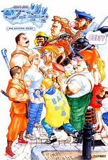 Final Fight Game Poster |4 Sizes| #2 MAME Arcade Amiga AtariST NeoGeo Snes PS4