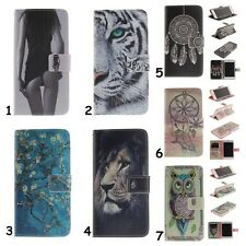 For Samsung Galaxy Magnet Flip Wallet Leather Card Holder Stand Phone Case Cover