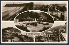 D947     Scarborough , Yorkshire .  Multi View Postcard , Real Photo.