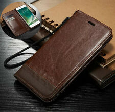Luxury Magnetic Flip Cover Stand Wallet Card Leather Case For iPhone 6s 7/7 Plus