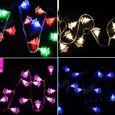 LED Christmas Tree String Fairy Battery Lights Changing Xmas Party Festive Decor