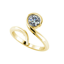 .50ct Solitaire Round Brilliant Cut Ring Certified Natural Diamond 18ct Gold 107