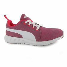 Puma Carson Running Shoes Womens White/Pink/Grey Trainers Sneakers Fitness
