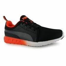 Puma Carson Inno Running Shoes Womens Black/Grey/Orange Run Trainers Sneakers